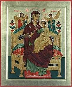 икона Божией Матери Пантанасса
